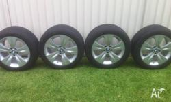 BMW E70 X5 19 inch Wheels with Bridgestone RUN FLAT