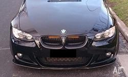 I have a JET BLACK 11 color E92 whole body parts