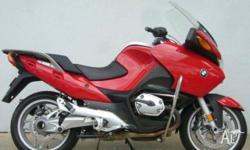 BMW,R1200RT,2007, Red, ROAD, 1170cc, 81kW, 6 SPEED