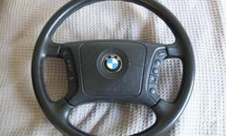 Up for grabs is this steering wheel in very good