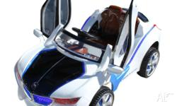 BMW Style Kid's Ride-on Car Rechargeable Remote Control