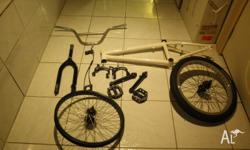 BMX bike parts in good condition The parts include: 1.
