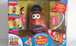 Mr. Potato Head Responds to sounds with voice and