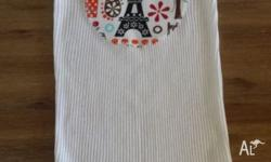 BRAND NEW WITH TAGS - PARIS EIFFEL TOWER SINGLET AND