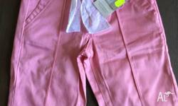 New Size 3, with tags Pumpkin Patch peach stretch Pants