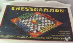 Board game - Chessgammon A cross between chess and
