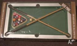 Board Game - Mini Pool Set Brand New in Box Size: