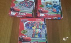 The Very Hungry Caterpillar Game. Cars 3 boxes of games
