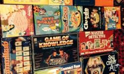Assortment of board games Selling as bulk Make an offer