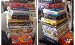 Board games and wood work activities $20 the lot, needs