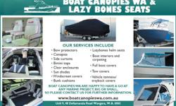 Boat Canopies WA is a Western Australia based Family