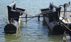 Boat Lift - Air Dock 2.2 Ton / 2200kgs. - Second Hand,