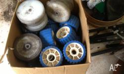 I Have some used boat trailer roller,s . Bought for my