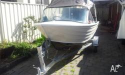 Boat Stacer 3.9 meter in good condition Pull start and