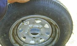 "Size 5 x 30 x 12"" Tyres and rims,3 of, $80.00 ford stud"