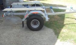 Trailer is registered and roadworthy ,has currently a