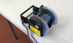 baot winch new $35.00 . second winch $30.00 . jockey