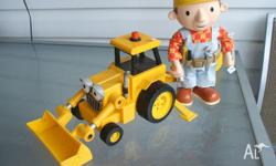 """BOB"" THE BUILDER & TRACTOR - HAS HAD VERY LITTLE USE,"