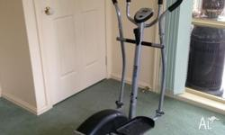 I have a Magnetic Elliptical Trainer for sale. Its a