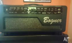Selling a Bogner Alchemist head w/ 4x12 Line 6 cab. A