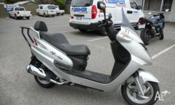 BOLWELL SCOOTA,200CC,MY05,2006, SILVER, SCOOTER, 171cc,