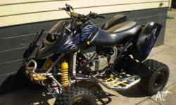 2002 DS650, bead locked rims, nerf bars, full alloy