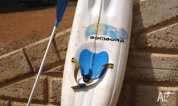Bombora 250 wave ski three fins, fair condition, many