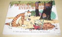 Book, There?s Treasure Everywhere, a Calvin and Hobbes