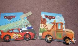 lightening mcqueen and matar books. apart from the