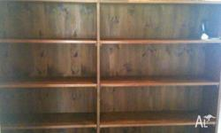 great bookshelf, fits many books and can be located in