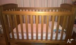 Have a beautiful Boori Country Collection cot. Teak
