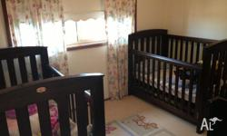 I have forsale a pair of Boori Cots in English Oak and
