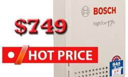 Bosch 17E Hot Water System � Not to be missed Special