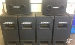 Bose 802 tops Bose 502 bassbins controller email me if