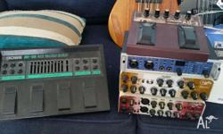 Prices: Boss BE-5B: $60 Boss AD-3: $120 D-Tar Equinoxe: