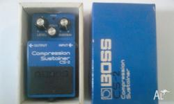 Boss CS-2 Compression Sustainer Made in March 1985 in
