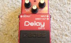 Selling my Boss DM-3 Anolog delay, Ive been told that
