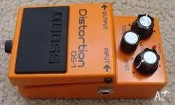As new in box boss ds-1 distortion pedal pickup