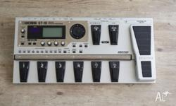 Boss GT10 multi effects and amplifier modelling guitar