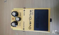 Virtually brand new OD-3 Overdrive pedal. Was attached