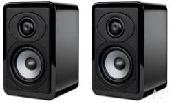 Boston Acoustics RS 230 Bookshelf Speakers (Black) -