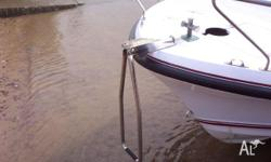 Bow Access Ladder - Stainless Steel, BOAT ACCESSORY,
