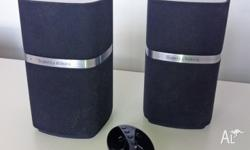Bowers & Wilkins B+W MM-1 Desktop Speakers Good