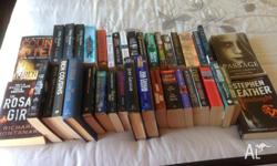 box of 39 books....variety of authors good