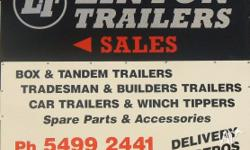 BOX TRAILER FROM FACTORY FROM $899 2010 MODEL 12MTHS