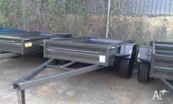 BOX TRAILERS HEAVY DUTY. ALL TYPES & SIZES. PLENTY OF