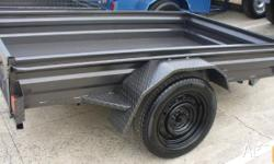 BOX TRAILERS NEW STOCK 6X4 7X4 8X5 TRAILERS IN STOCK,