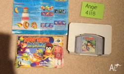 N64 BOXED CARTRIDGE Diddy Kong Racing - includes