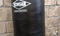 mogan boxing bag very good condition has a small tear