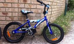 Boy 12' Mongoose bike rarely used and is in very good